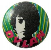 Bob Dylan - 'Sketch' Button Badge